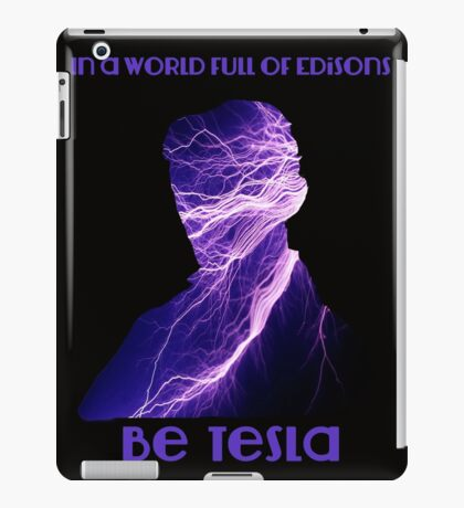 Nikola Tesla one iPad Case/Skin