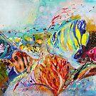 The Splash Of Life 14. Red Sea by Elena Kotliarker
