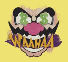 "Wario ""WAAHAA!"" Digital Paint by TATSUHIRO"