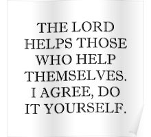 Lord Helps Poster