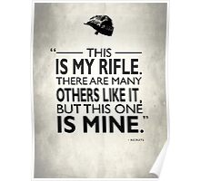 This Is My Rifle Poster