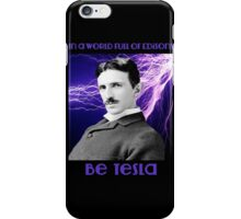 Nikola Tesla two iPhone Case/Skin