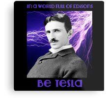 Nikola Tesla two Metal Print