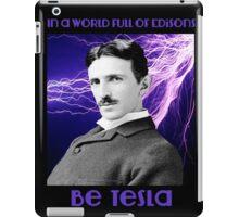 Nikola Tesla two iPad Case/Skin