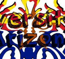 UofA Wildcat Arizona Flag Sticker