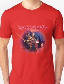 TF2 Demo-Man Iron Bomber Band Logo Unisex T-Shirt