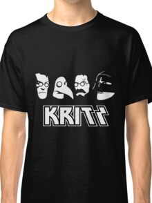 TF2 Medic Kritz Band Logo Classic T-Shirt