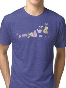 Star vs. the Forces of Evil Walk Tri-blend T-Shirt