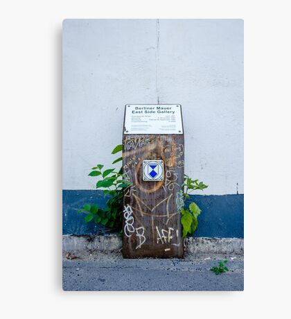 East Side Gallery Canvas Print