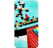 Holiday Motel Lodge Sign iPhone Case/Skin