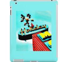Holiday Motel Lodge Sign iPad Case/Skin
