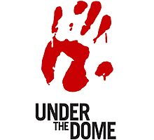 Under The Dome Bloody Hand Photographic Print
