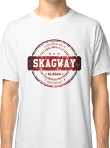 Skagway Alaska Stamp Classic T-Shirt