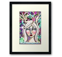 Woodland Mistress Framed Print