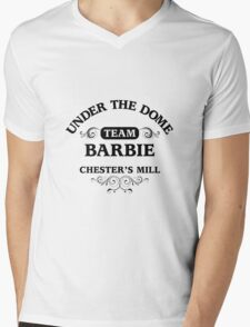 Under The Dome Team Barbie Mens V-Neck T-Shirt