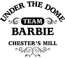 Under The Dome Team Barbie Photographic Print