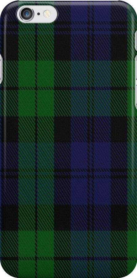 01687 Black Watch Military Tartan  by Detnecs2013