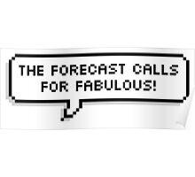 Fabulous! Poster