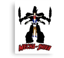 Mecha Shiva! Canvas Print
