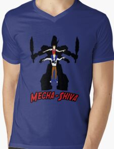 Mecha Shiva! Mens V-Neck T-Shirt