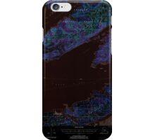 USGS TOPO Map Alaska AK Cordova C-6 355195 2000 63360 Inverted iPhone Case/Skin