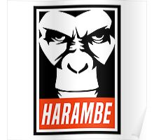 Harambe (OBEY Meme) Gorilla Shirt, Phone Case, Stickers Poster