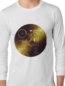 The Voyager Golden Record! Long Sleeve T-Shirt