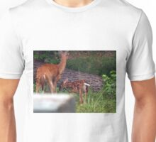 Deer, Doe & Fawn Unisex T-Shirt