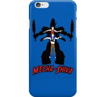 Mecha Shiva! iPhone Case/Skin