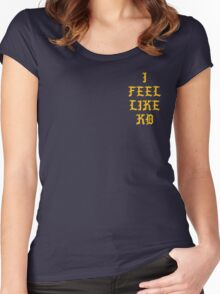I FEEL LIKE KD Golden State Edition  Women's Fitted Scoop T-Shirt
