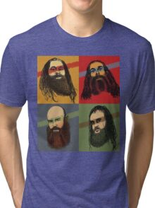 Portrait Of An American Family Tri-blend T-Shirt