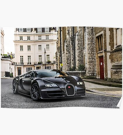 Bugatti Veyron Supersport Poster
