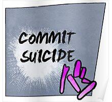 JoJo's Bizarre Adventure Part IV:  Heaven's Door - Commit Suicide Poster
