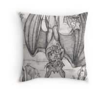 Tea Time for Toothless Throw Pillow