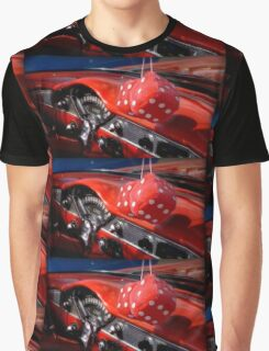 Hot Red Dice Graphic T-Shirt