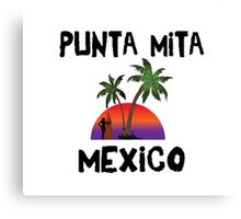 Punta Mita Mexico Canvas Print