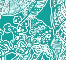 Sealife Aqua All-over Print Sticker