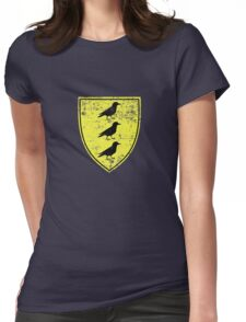 Borch Three Jackdaws Coat of Arms - Witcher Womens Fitted T-Shirt