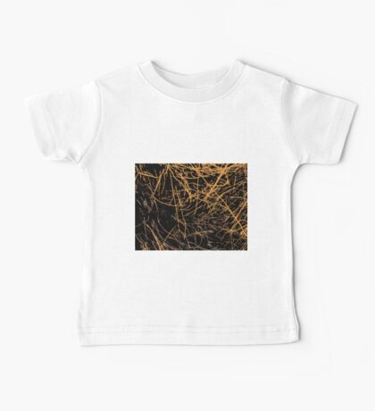 Straws, sticks, abstract pattern 2 Baby Tee