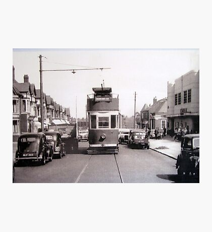 Historic photograph of a BLACKPOOL Tram. Photographic Print