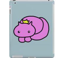 pretty kitty crown print iPad Case/Skin