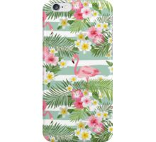 Tropical Flamingos iPhone Case/Skin