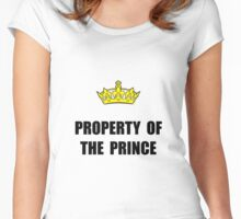 Property Of Prince Women's Fitted Scoop T-Shirt