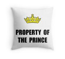 Property Of Prince Throw Pillow