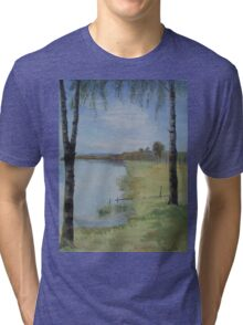 Two Birches Tri-blend T-Shirt