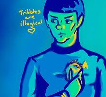 Spock  by Square-Orange