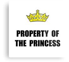Property Of Princess Metal Print