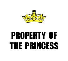 Property Of Princess Photographic Print