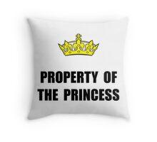 Property Of Princess Throw Pillow