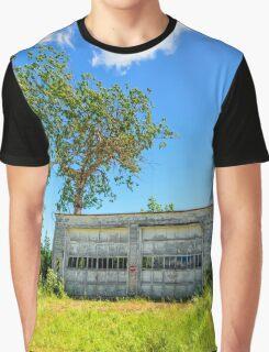 Abandoned Garage Graphic T-Shirt